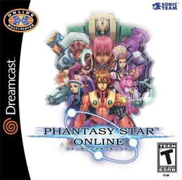 Phantasy Star Online Dreamcast boxart