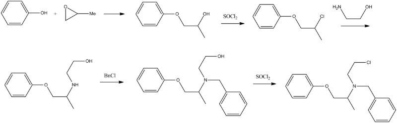 Phenoxybenzamine synthesis.png