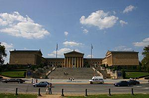 Description de l'image  Philadelphia Museum of Art Pennsylvania USA.jpg.