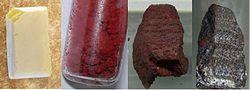 Some allotropes of phosphorus
