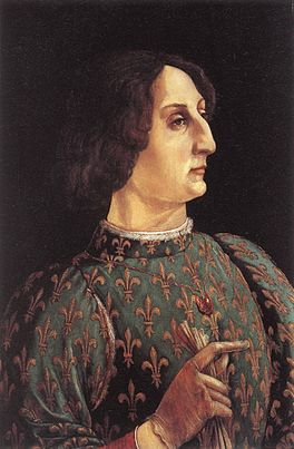 Piero Pollaiuolo Portrait of Galeazzo Maria Sforza.jpg
