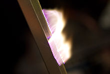 Artificial plasma produced in air by a Jacob's Ladder