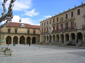 Soria : la Plaza Mayor