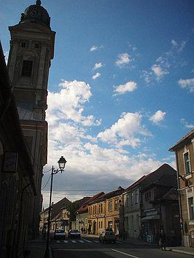 Centre-ville de Baia Mare