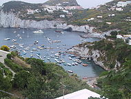 view of one of the most beautiful bay located in Le Forna area