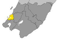 Porirua City within Wellington Region.png