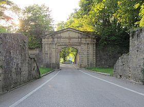 Porte de Sarrelouis, fort de Bellecroix