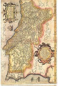 Ubicación de Portugal