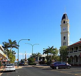 Le centre ville de Bundaberg
