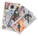 Pound sterling banknotes