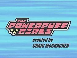 The Powerpuff Girls title card