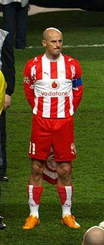Predrag Đorđević, Chelsea v Olympiakos match - 20080305.jpg