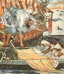 Princess Belle-Etoile 2 - illustration by Walter Crane - Project Gutenberg eText 18344.jpg