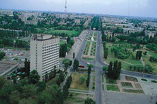 Mykolaïv: la perspective Lénine