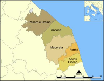 Provincias de las Marcas.