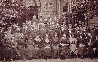 Le congrès international de psychanalyse de 1911, à Nuremberg