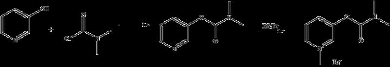 Pyridostigmine synthesis.png