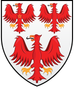 Queens College Oxford Coat Of Arms.svg