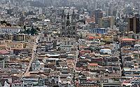 Quito, vu de El Panecillo