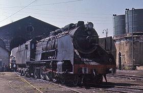 RENFE 240F class at Medina del Campo 1970.jpg