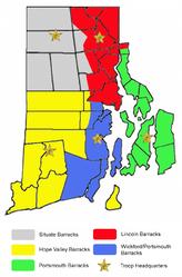 RI - State Police Troop Map.png