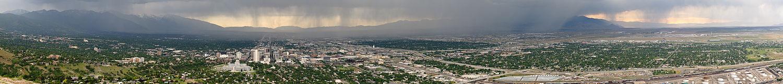 Vista de la ciudad en junio de 2009.
