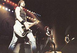 I Ramones in concerto nel 1987 a San Paolo