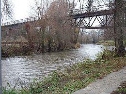 Près de Weikershof, sous un pont du Bibertbahn