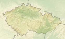 (Voir situation sur carte: République tchèque)