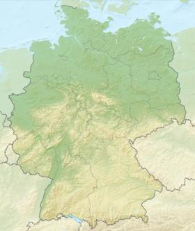 (Voir situation sur carte: Allemagne)