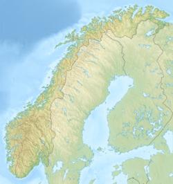 Voir la carte Norvège topographique