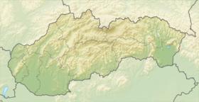 (Voir situation sur carte: Slovaquie)
