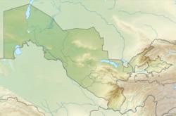 (Voir situation sur carte: Ouzbékistan)