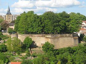 Reste des fortifications