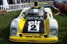 Renault Alpine A442B n°2 de 1978