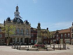 Retford Town Hall, May 2012.JPG