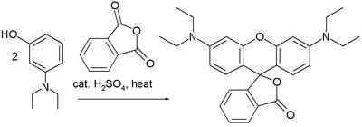 Rhodamine B synthesis