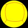 Rhombic hexahedron spherical.png