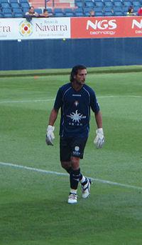 Ricardo in 2008 preseason vs Racing.JPG