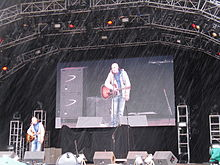 Richard Digance at the 2010 Cropredy Festival