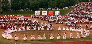 Estonian Ring Dance