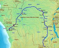 El Congo y sus afluentes