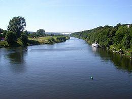La Ruhr à Essen-Kettwig.