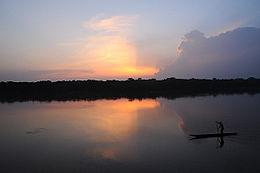 Rivière Sangha en 2010