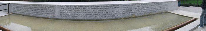 Memorial a Robert F. Kennedy en el Cementerio Nacional de Arlington.