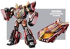 Rodimus WFC concept art by mmatere.jpg