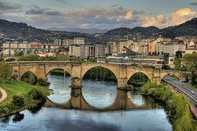 Puente romano.