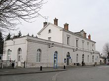 La gare de Romorantin-Blanc-Argent.