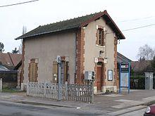 La gare du Faubourg-d'Orléans.