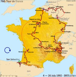 Route of the 1992 Tour de France.png